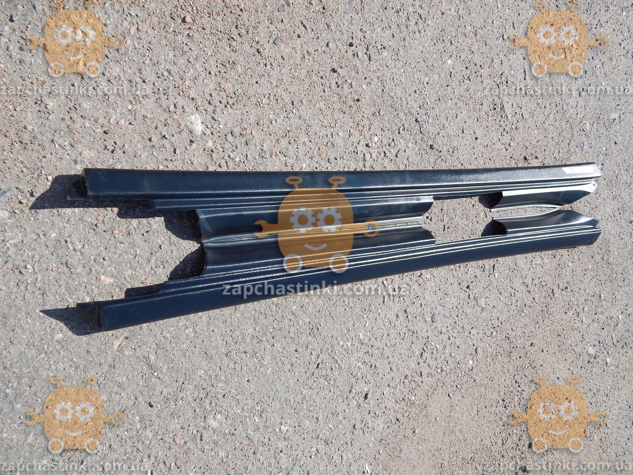 Накладка порога ВАЗ 2110 - 2112 (пластик) 2шт (пр-во ПЛАСТИК Россия) КС 001152