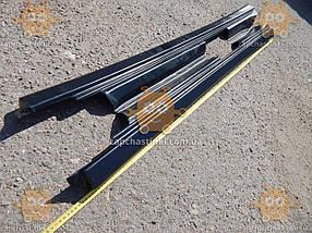 Накладка порога ВАЗ 2110 - 2112 (пластик) 2шт (пр-во ПЛАСТИК Россия) КС 001152, фото 3