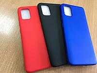 Оригинальный чехол бампер-накладка Soft силикон для Samsung Galaxy A51 A515 2020 противоударный