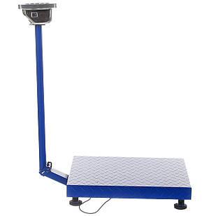 Весы электронные торговые напольные Domotec со стойкой до 300-350 кг (2853)
