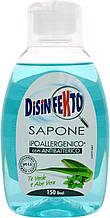 Антибактеріальне гіпоалергенна рідке мило Disinfekto Sapone 300 ml