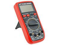 Мультиметр профессиональный цифровой UT 61 тестер вольтметр