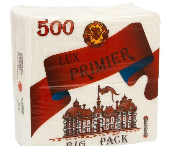 Салфетка бумажная барная LUX PRIMIER 500 шт