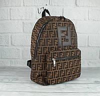 Вместительный рюкзак Fendi 2019 большого размера (копия), фото 1