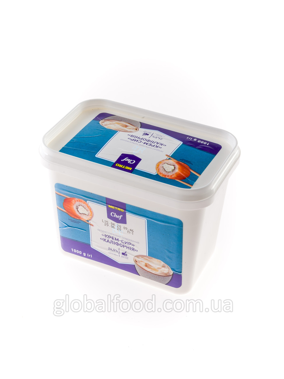 Сыр сливочный Metro Chef 1кг