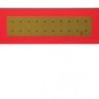 """Табличка металева """"довгомір """" (200х560 мм)   GDEO16   АВТОПОЕЗД (вир-во Туреччина)"""
