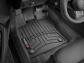 Килими гумові WeatherTech Skoda Superb 2015-2020 передні чорні