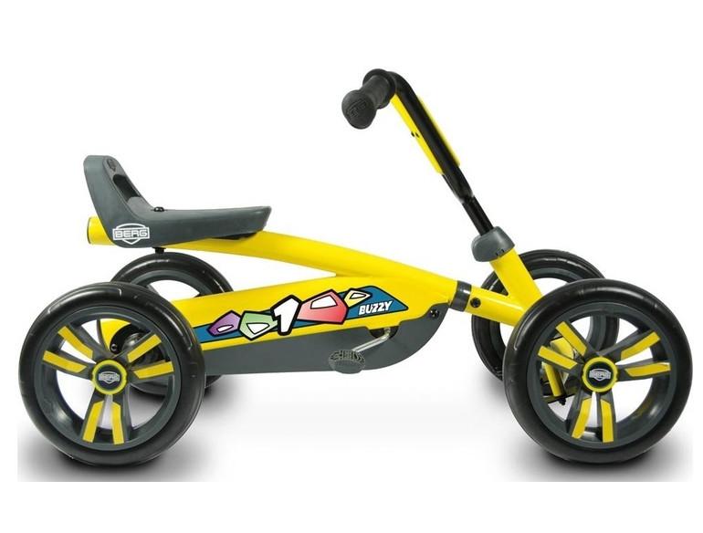 Детский веломобиль Berg Buzzy Yellow (24.30.00.00) от 2 до 5 лет
