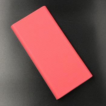 Чехол для Xiaomi Power bank 2s / 3 10000 2xUSB PLM09ZM / PLM12ZM Розовый