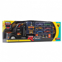 Игрушка автовоз с набором машинок