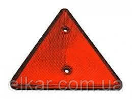 Світловідбивач трикутний червоний YP-11