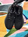 Мужские кроссовки Adidas Yeezy Boost 350 Black (черные) - 395TP, фото 3
