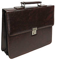Деловой портфель из эко кожи 4U Cavaldi коричневый