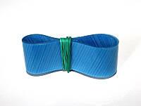 Тесьма для склейки абразивных лент встык T1884 19мм 45º синяя 1м. (Лента для склейки шлифшкурки)