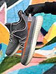 Чоловічі кросівки Adidas Yeezy Boost 350 Gray (сірі) - 396TP, фото 5
