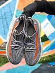 Чоловічі кросівки Adidas Yeezy Boost 350 Gray (сірі) - 396TP, фото 6