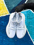 Мужские кроссовки Adidas Yeezy Boost 350 White (белые) - 397TP, фото 4