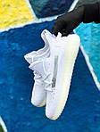 Мужские кроссовки Adidas Yeezy Boost 350 White (белые) - 397TP, фото 6
