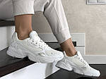 Жіночі кросівки Adidas Falcon (білі) 9328, фото 2