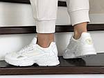 Жіночі кросівки Adidas Falcon (білі) 9328, фото 3