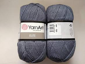 Пряжа Элит (Elite) Yarn Art, цвет серый 842