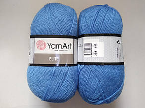 Пряжа Элит (Elite) Yarn Art, цвет голубой 224