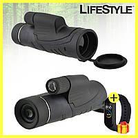 Монокуляр Binoculars 40x60 TJ с двойной фокусировкой с чехлом + Фитнес браслет М4 в Подарок!