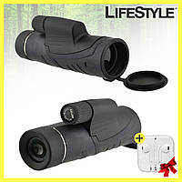 Монокуляр Binoculars 40x60 TJ с двойной фокусировкой с чехлом + Наушники в Подарок, фото 1