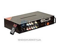 SKY SOUND Микшерный пульт с усилителем Sky Sound SR-088i (2*150W)