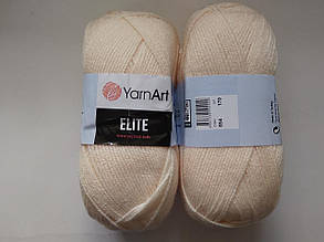 Пряжа Элит (Elite) Yarn Art, цвет персик 854