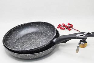 Сковорода с трехслойным мраморным покрытием Edenberg 30 см