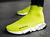 Жіночі кросівки Balenciaga Speed Trainer Yellow BB, фото 5