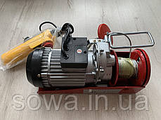 ✔️ Тельфер, лебедка Euro Craft HJ203  |  250/500kg, фото 3