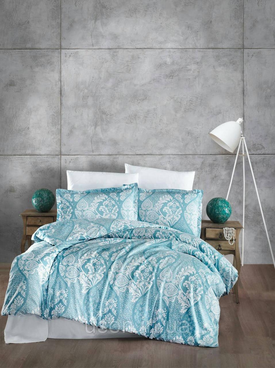 Комплект постельного белья  Clasy сатин размер евро GIRALDA V2