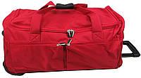 Дорожная сумка на колесах 65 л David Jones B8881 красная
