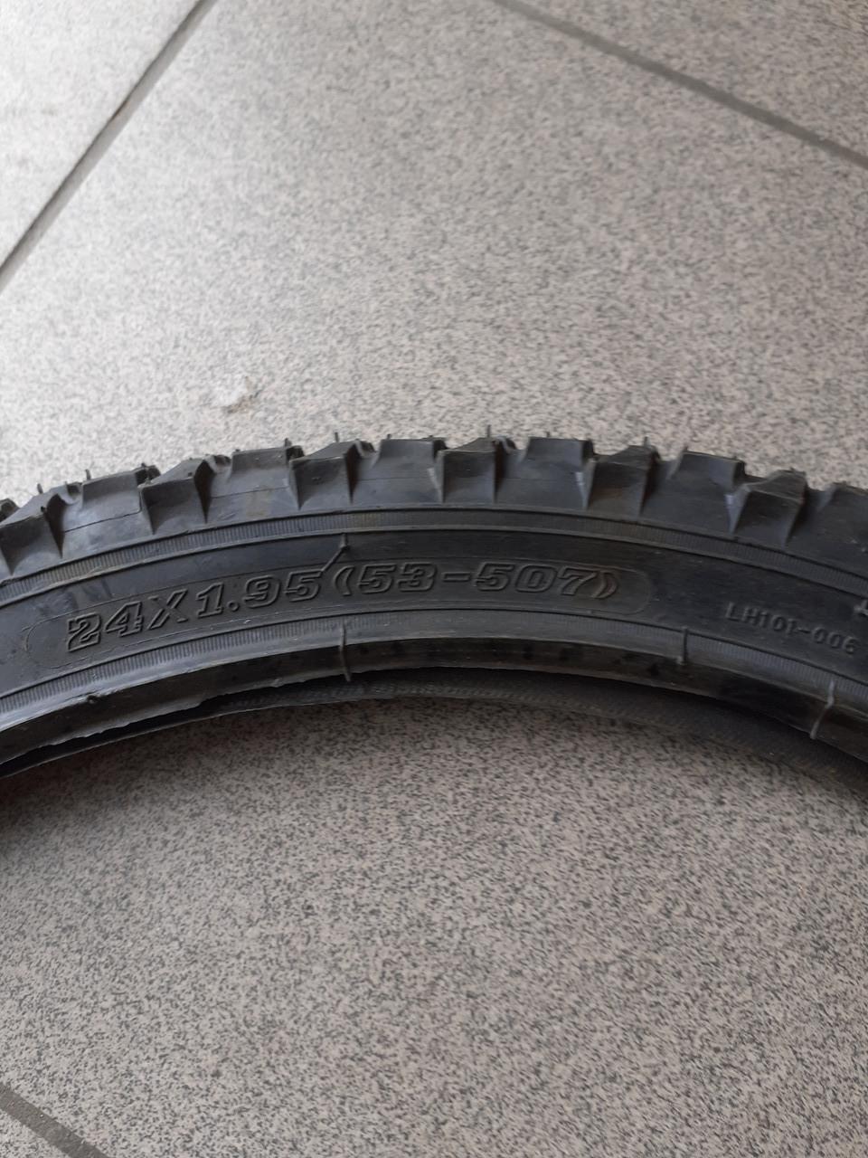 Покрышка велосипедная 24*2.0