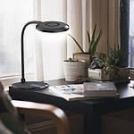 Светодиодный настольный светильник Feron DE1731 8W 3000K-4000K-6000K Черный, фото 6