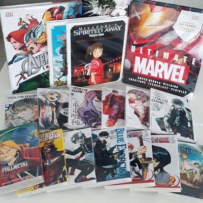 Комікси та манга англійською