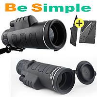 Монокуляр Binoculars 40x60 TJ с двойной фокусировкой с чехлом + раскладной нож в Подарок