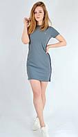 Платье-футболка короткое  спортивный стиль VIGOSS Турция 11898, фото 1