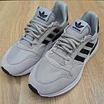 Мужские кроссовки Adidas ZX 500 (серые) 10147, фото 3