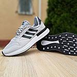 Мужские кроссовки Adidas ZX 500 (серые) 10147, фото 5