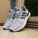 Мужские кроссовки Adidas ZX 500 (серые) 10147, фото 7