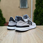 Мужские кроссовки Adidas ZX 500 (серые) 10147, фото 8