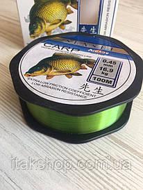 Леска рыболовная Sensei Mikado Carp 100M 16.9kg 0.45mm