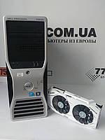 Игровой компьютер Dell WS T5500, Intel Xeon E5620 2.66GHz, RAM 16ГБ, SSD 120GB, HDD 500ГБ, GTX 1060 6GB, фото 1