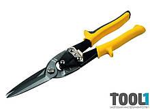 Ножницы по металлу ПРЯМЫЕ 300 мм удлиненные, CrMo MASTERTOOL 01-0421