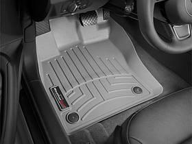 Килими гумові WeatherTech Skoda Octavia A7 2013-2020 передні сірі