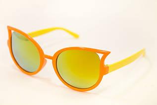 Детские очки зеркальные оранж