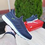 Мужские летние кроссовки Puma (серые) 10151, фото 2